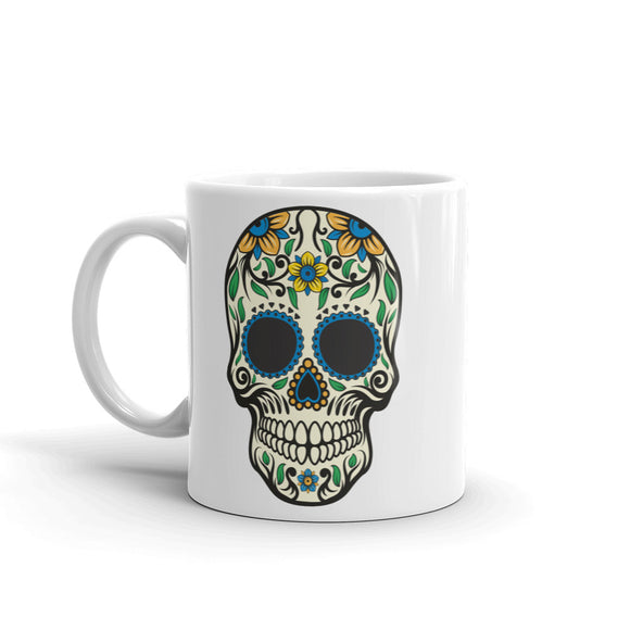 Sugar Skull Scary Horror Halloween High Quality 10oz Coffee Tea Mug #7514