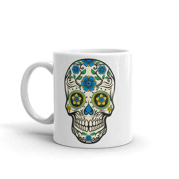 Sugar Skull Scary Horror Halloween High Quality 10oz Coffee Tea Mug #7515