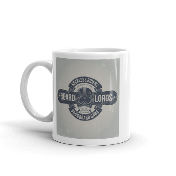 Reckless Riders Snowboarding Gang High Quality 10oz Coffee Tea Mug #7542
