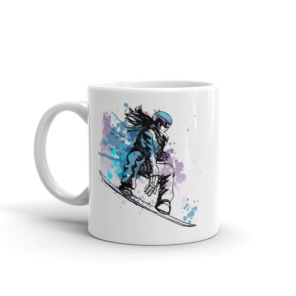 Snowboarding Extreme Thrill Seeker High Quality 10oz Coffee Tea Mug #7592