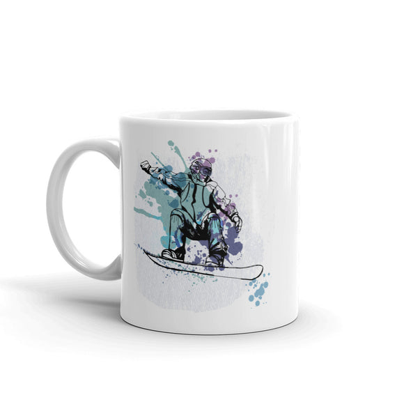 Snowboarding Extreme Thrill Seeker High Quality 10oz Coffee Tea Mug #7593