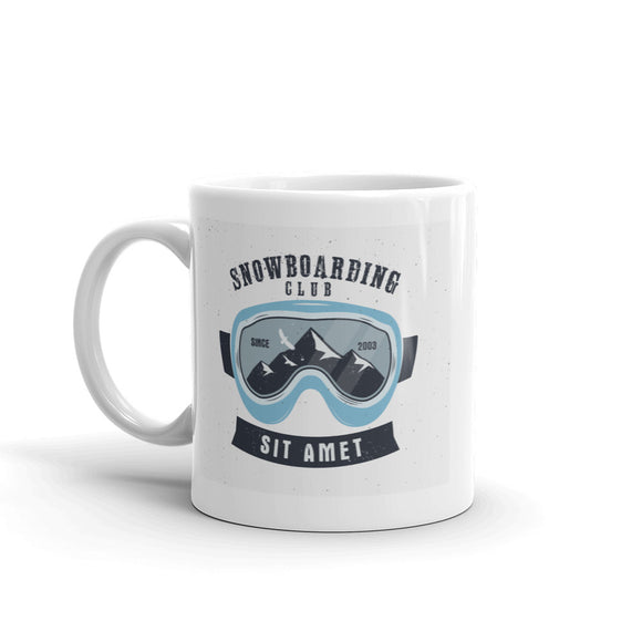 Snowboarding Club Sit High Quality 10oz Coffee Tea Mug #7597