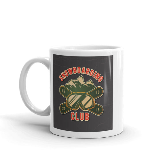 Snowboarding Club High Quality 10oz Coffee Tea Mug #7605