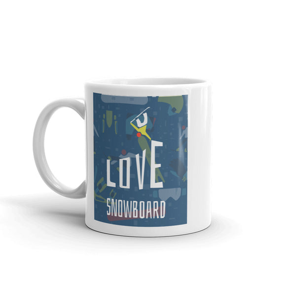 Snowboarding Extreme Thrill Seeker High Quality 10oz Coffee Tea Mug #7633