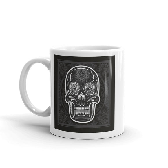 Sugar Skull Scary Horror Halloween High Quality 10oz Coffee Tea Mug #7675