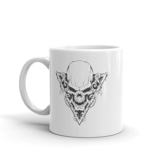 Skull Scary Horror Halloween High Quality 10oz Coffee Tea Mug #7686