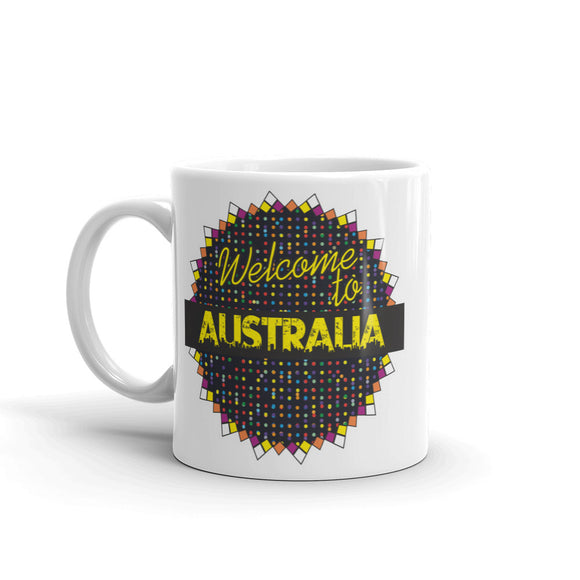Welcome To Australia High Quality 10oz Coffee Tea Mug #7783
