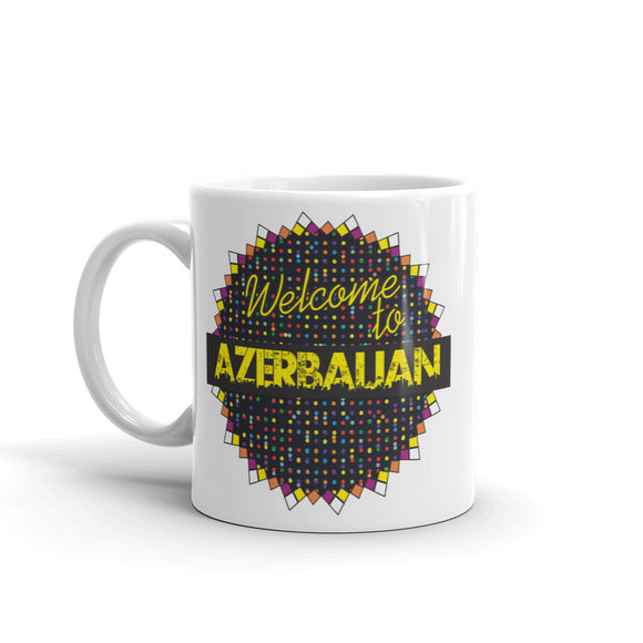 Welcome To Azerbaijan High Quality 10oz Coffee Tea Mug #7785
