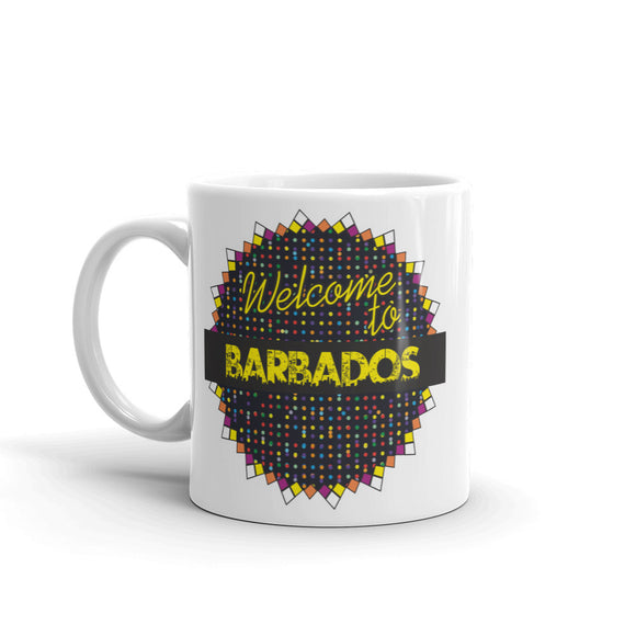 Welcome To Barbados High Quality 10oz Coffee Tea Mug #7789