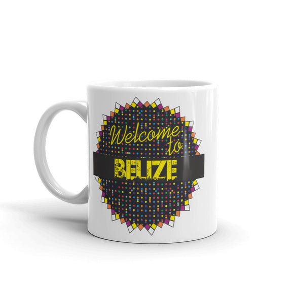 Welcome To Belize High Quality 10oz Coffee Tea Mug #7792