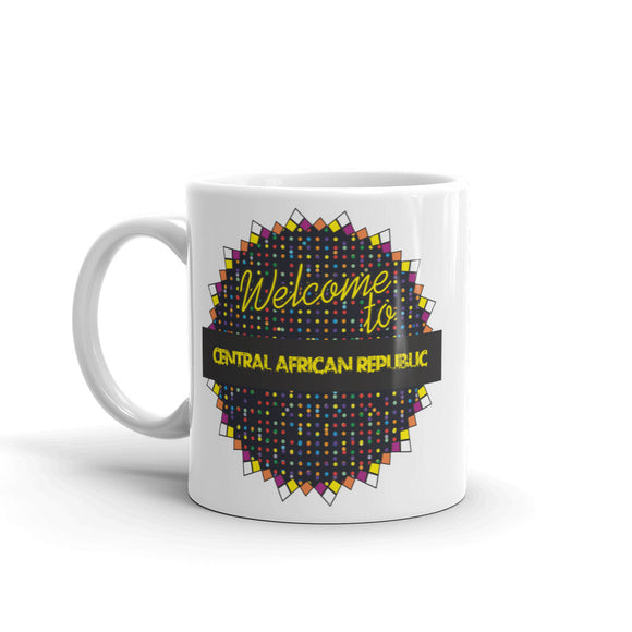 Welcome To Central African Republic High Quality 10oz Coffee Tea Mug #7808