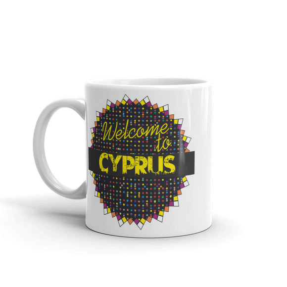 Welcome To Cyprus High Quality 10oz Coffee Tea Mug #7819