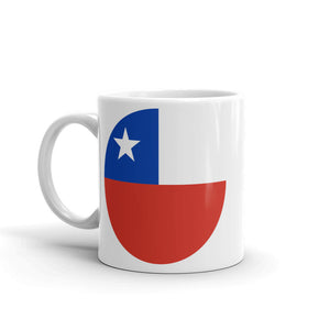 Chile Flag Map High Quality 10oz Coffee Tea Mug #9018