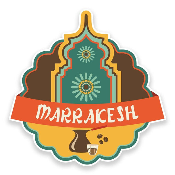2 x Marrakesh Morocco Vinyl Sticker  #9225