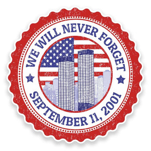 2 x Never Forget September 11th 2001 #9273