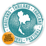 2 x Thailand WINDOW CLING STICKER Car Van Campervan Glass #9282