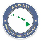 2 x Hawaii USA Vinyl Sticker #9342