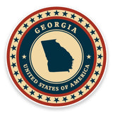 2 x Georgia USA Vinyl Sticker #9357