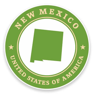 2 x New Mexico USA Vinyl Sticker #9415