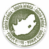 2 x South Africa Vinyl Sticker #9468