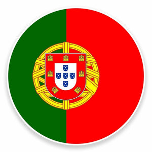 2 x Portugal Vinyl Sticker #9521