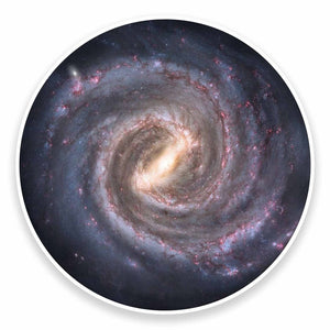 2 x Milky Way Solar System Space Galaxy Vinyl Sticker #9561
