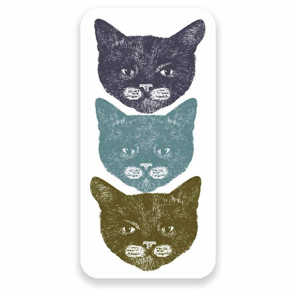 2 x Cute Cats Vinyl Sticker #9614