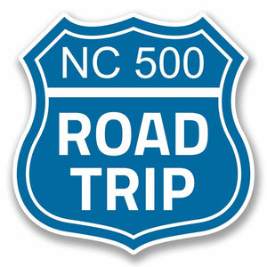 2 x North Coast 500 Route Vinyl Sticker #9686