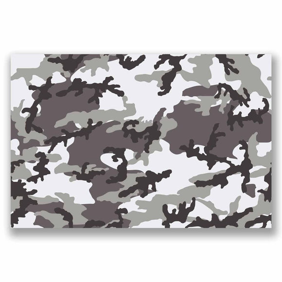 A4 Sheet Camo Sticker Bomb Vinyl Wrap Car Bike Laptop Army Camouflage Cool #9691