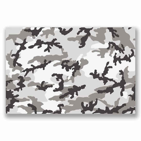 A4 Sheet Camo Sticker Bomb Vinyl Wrap Car Bike Laptop Army Camouflage Cool #9692