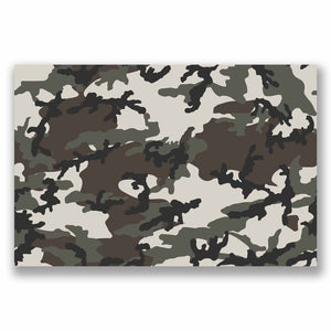 A4 Sheet Camo Sticker Bomb Vinyl Wrap Car Bike Laptop Army Camouflage Cool #9693