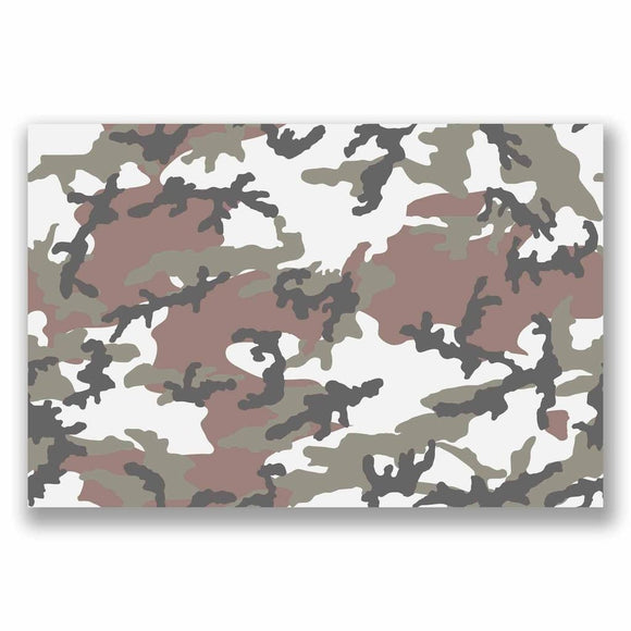 A4 Sheet Camo Sticker Bomb Vinyl Wrap Car Bike Laptop Army Camouflage Cool #9694