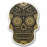 2 x Sugar Skull Vinyl Sticker #9725