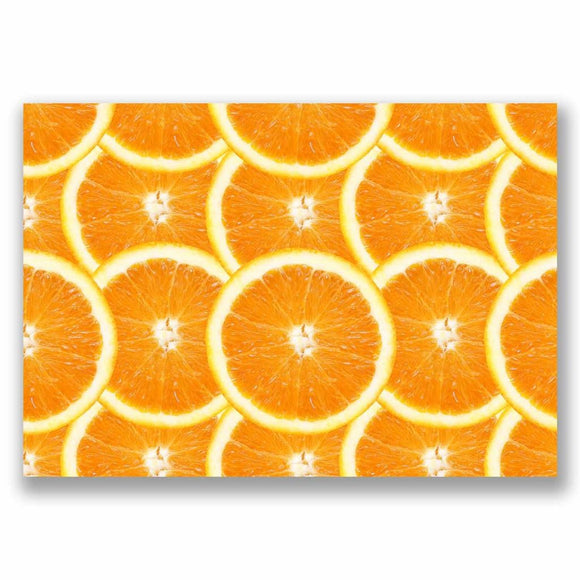 1 x A4 Vinyl Sticker - Oranges Picture Decorating Wrap Phone Tablet Craft #9759