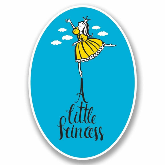 2 x A Little Princess Vinyl Sticker #9780