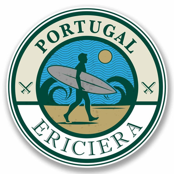 2 x Ericiera Portugal Vinyl Sticker #9783