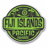 2 x Fiji Islands Sticker #9824