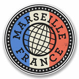 2 x Marseille France Vinyl Sticker #9851