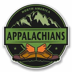 2 x Appalachians Vinyl Sticker #9863