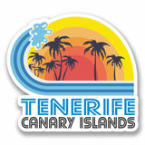 2 x Tenerife Spain Vinyl Sticker #9869