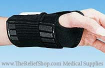 Reflex Wrist Support with Optional Cold Therapy Pack