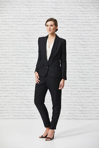 Essential Black Boyfriend Blazer - Issue Clothing
