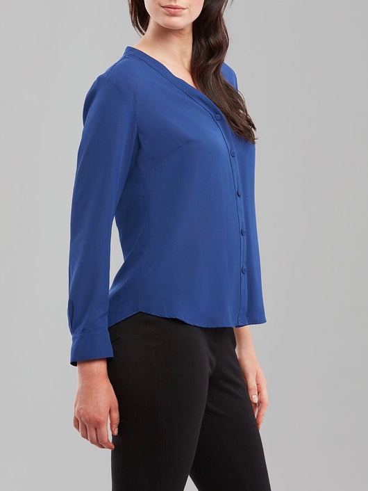 Windsor Blouse - Royal Blue - Issue Clothing