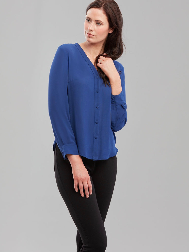 Windsor Blouse - Royal Blue