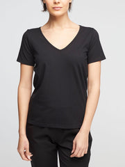Essential Organic Cotton Tee - V Neck