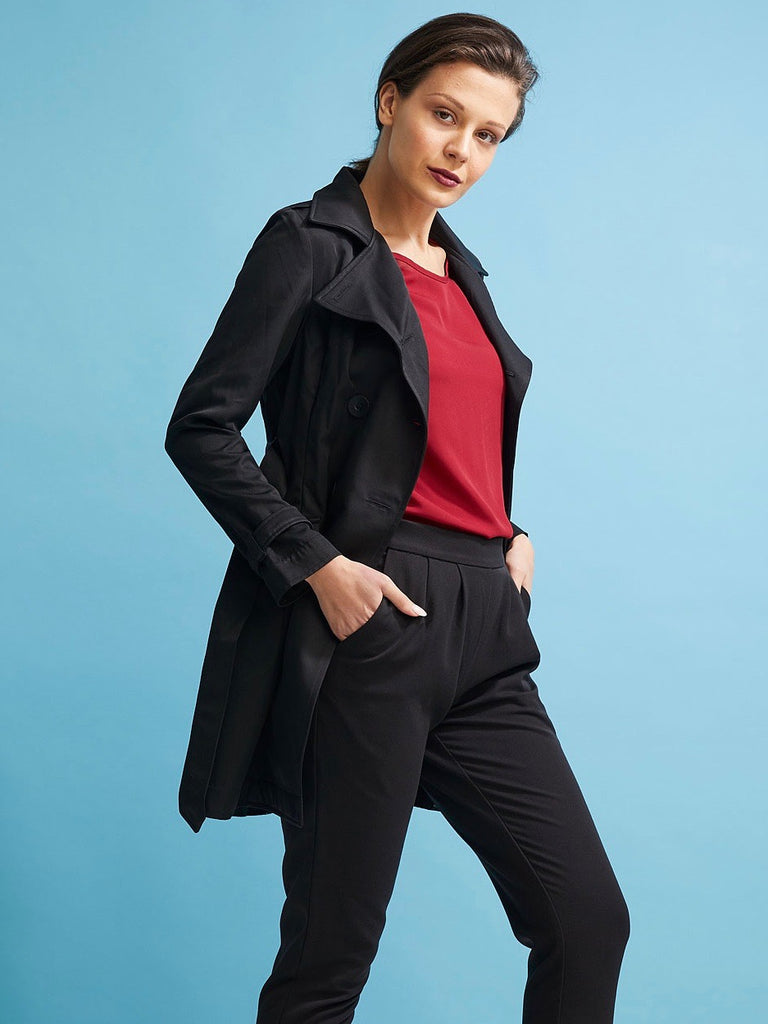 Essential Black Trench Coat - Issue Clothing