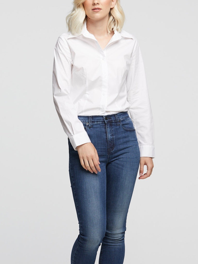 Classic White Tailored Shirt - Issue Clothing