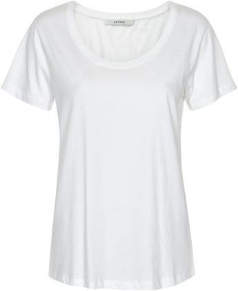 Gestuz U Neck Organic Cotton Tee - Issue Clothing
