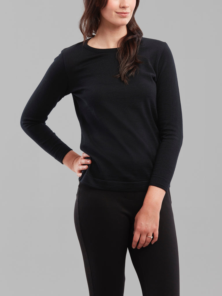 Ad Infinitum Knit in Black - Issue Clothing