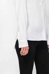Essential White Button Down Shirt